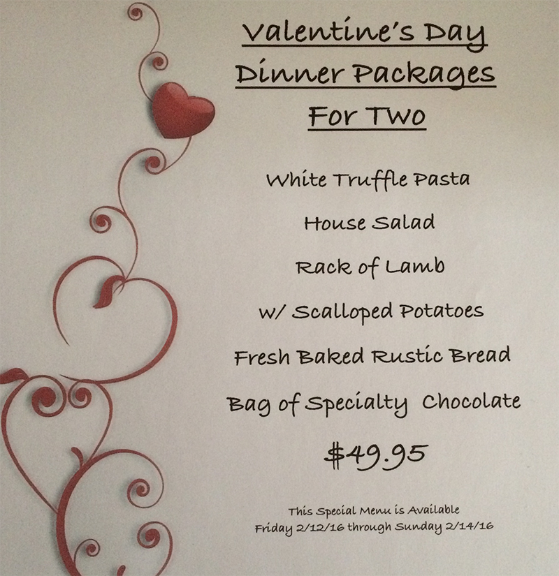 Valentines Day Couples Special